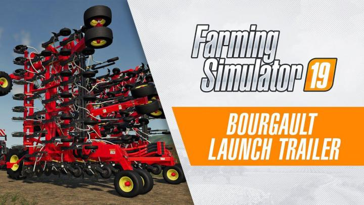 FS19 - Bourgault - Launch-Trailer