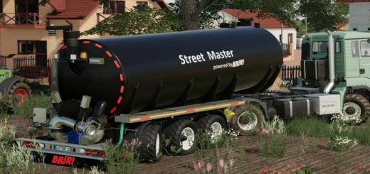 Photo of FS19 – Briri Streetmaster 30 V1