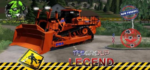 Photo of FS19 – Bulldozer Hitachi 900 V1.5
