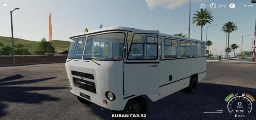 Photo of FS19 – Bus Kuban For The Map Village Yagodnoe V1.0.3