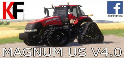 Photo of FS19 – Case Ih Magnum Us Tractor V4