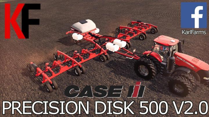 FS19 - Case Ih Precision Disk 500T V2