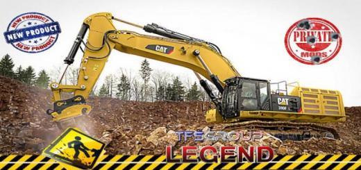 Photo of FS19 – Caterpillar 390F Excavator V1.5