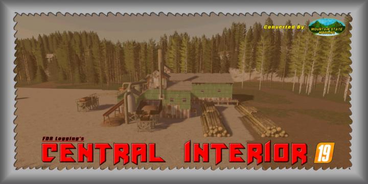 FS19 - Central Interior 19 Map V1