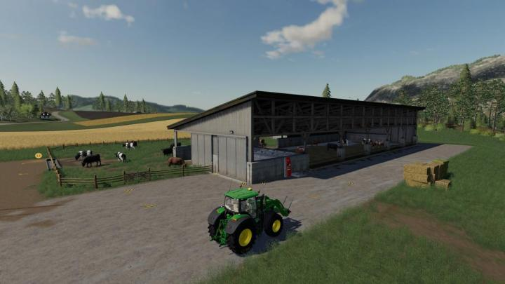 FS19 - Cow Stable V1.1