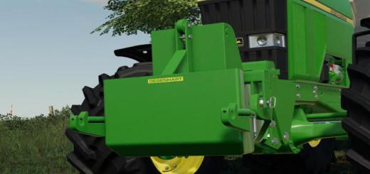 Photo of FS19 – Degenhart Ballast Tank V1.1