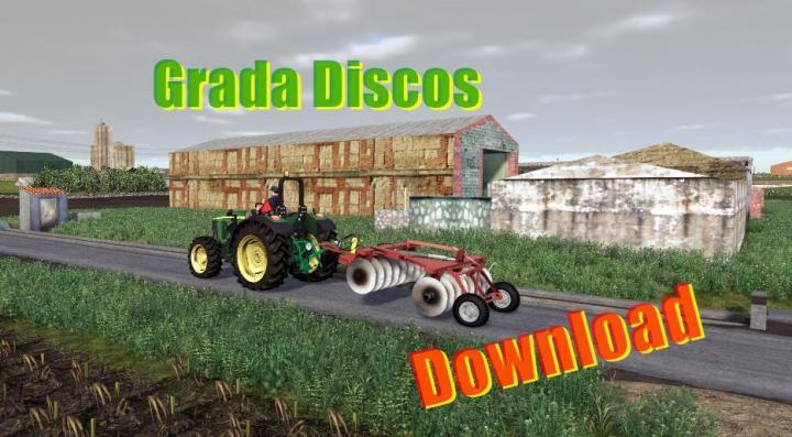 FS19 - Disc Harrow Red V1