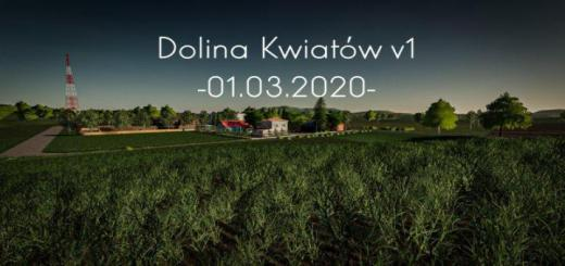 Photo of FS19 – Dolina Kwiatow Map V1