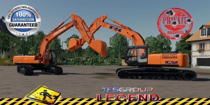 FS19 - Doosan Kobleco Excavator V1.5