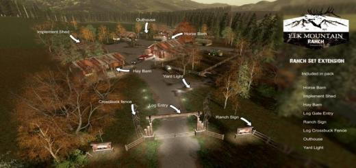 Photo of FS19 – Elk Mountain Ranch Extension V1
