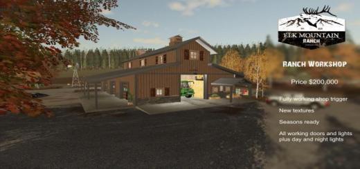 Photo of FS19 – Elk Mountain Ranch Workshop V1