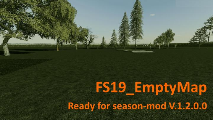 FS19 - Empty Map V1