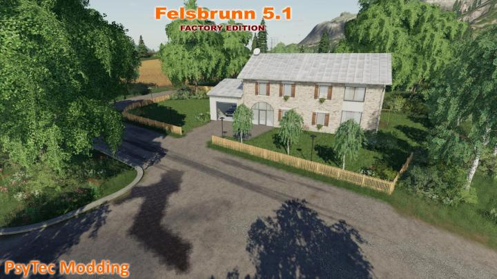 FS19 - Felsbrunn Map V5.1 - Factory Edition