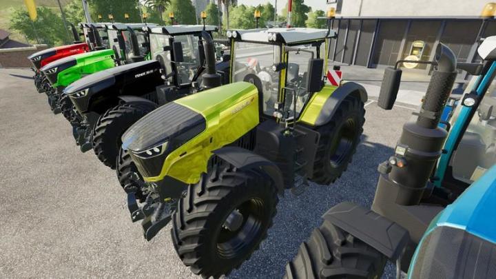 FS19 - Fendt 1000 Vario Tuning Tractor V1.2