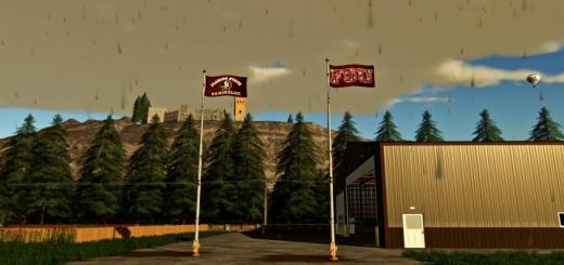 Photo of FS19 – Flags College Cities Towns V1