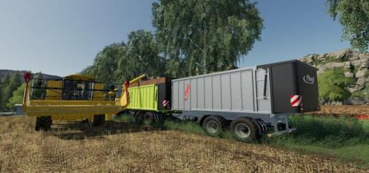 Photo of FS19 – Fliegl Tmk266 Bull Trailer V1.3