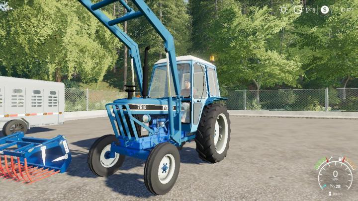 FS19 - Ford 7610 Iii Wip V1