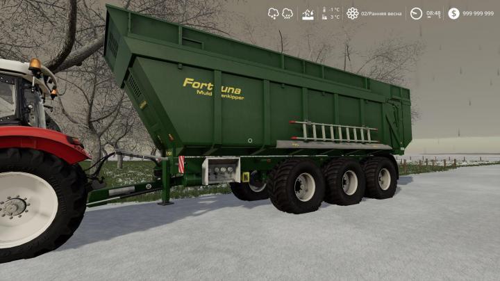FS19 - Fortuna Ftm 300 / 8.0 Trailer V1