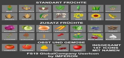 Photo of FS19 – Globalcompany Usericon V1.2