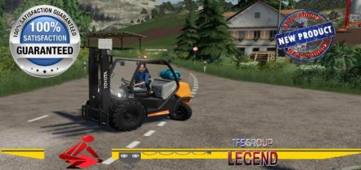 Photo of FS19 – Gpl Toyota Forklift V1.5