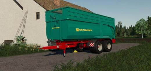 Photo of FS19 – Grabmeier Muldenkipper V2.5
