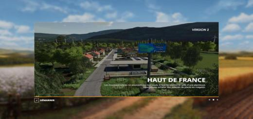 Photo of FS19 – Haut De France Map V2