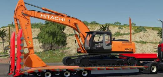 Photo of FS19 – Hitachi Zx290Lc V1.0.1.0