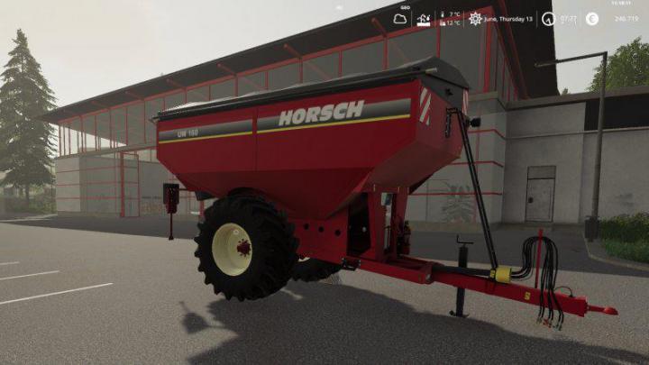 FS19 - Horsch Uw160 V1.0.2