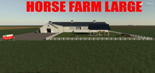 Photo of FS19 – Horse Farm V1