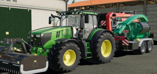 Photo of FS19 – John Deere 6R Tractor V1.1.1.1