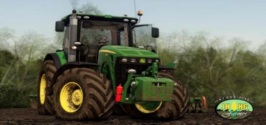 Photo of FS19 – John Deere 8R (2009-2011) Series Eu Official V1