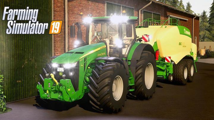FS19 - John Deere 8R Tractor V1