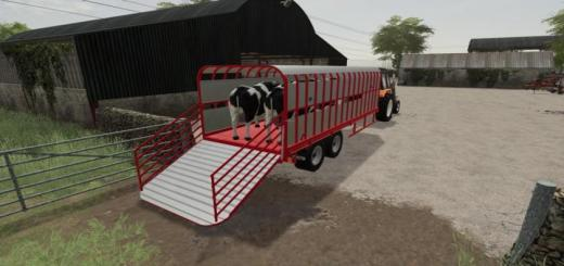 Photo of FS19 – Johnston Brothers Modular Trailer V1.0.0.2