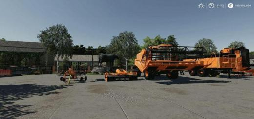 Photo of FS19 – Kubota Pack V1