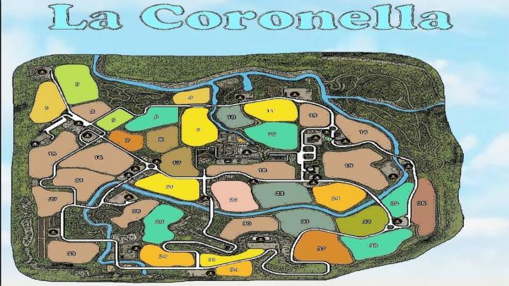 FS19 - La Coronella Map V1