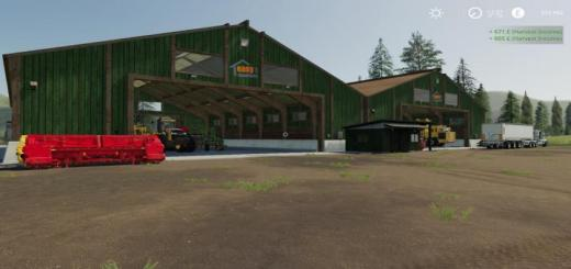 Photo of FS19 – Lakeland Vale Placeable Sheds
