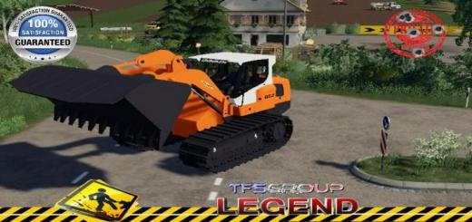 Photo of FS19 – Liebherr Lr 834 Colas V1.5