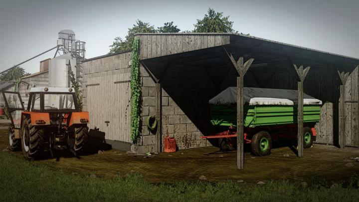 FS19 - Machine Garage V1