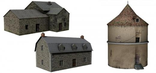Photo of FS19 – Maison Et Pigeonnier (3D Mapping) V1