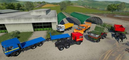 Photo of FS19 – Man 33 414 6X6 Pack V1.0.0.1
