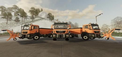 Photo of FS19 – Man Tgs Winter Service V1.0.1.0