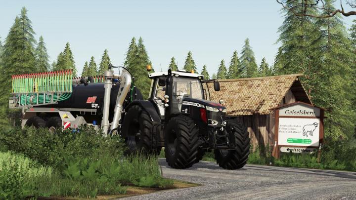 FS19 - Massey Ferguson 7700S Tractor V1.2