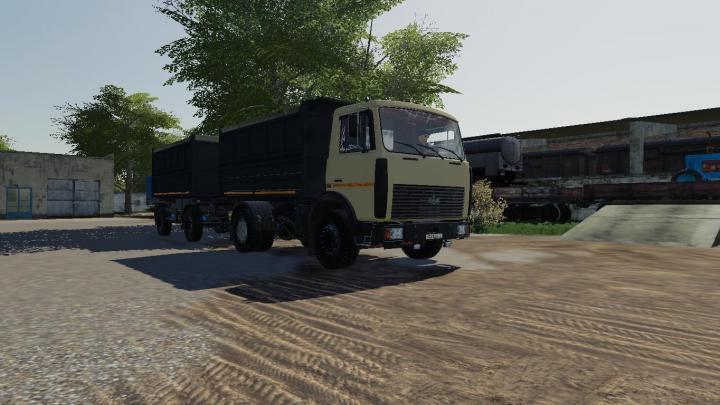 FS19 - Maz 5551A2 & Pricep 8571N V1.1