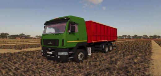 Photo of FS19 – Maz 631203 Truck V1