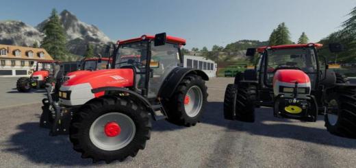 Photo of FS19 – Mccormick Mc115/120/135 Tractor V1.0.1.0