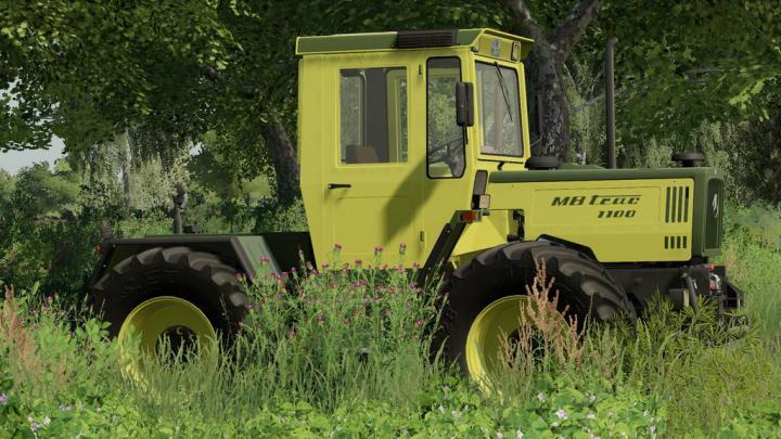 FS19 - Mercedes-Benz Trac 1000-1100 V1