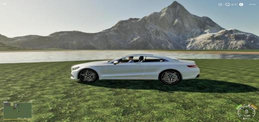 Photo of FS19 – Mercedes S500 Coupe V1