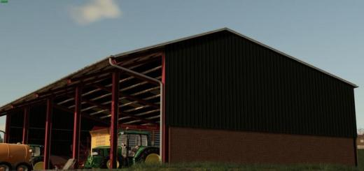 Photo of FS19 – Modern Shed V1