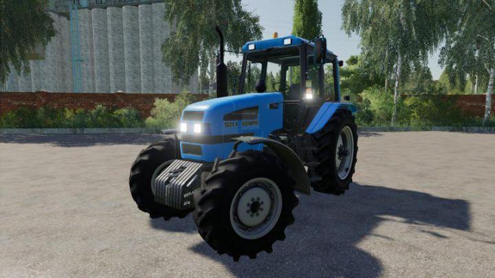 FS19 - Mtz-1221.4 Tractor V1.0.0.2