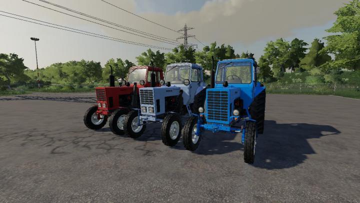 FS19 - Mtz 80 Tractor V1